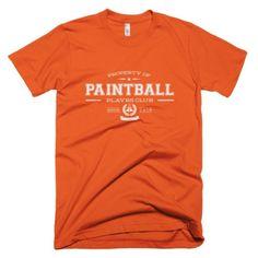 The PLAYRS Club Men's Paintball T-Shirt – Light