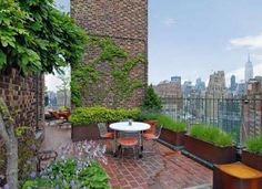 NYC. Jennifer Aniston's Penthouse located on the 18th floor of a West Village building