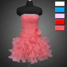 5色! 恋人ストラップレスの背中が大きく開い短いミニよじ登るカスタム- 製のウエディングドレスの舞踏ynlf082のカクテルパーティーのレースのドレス