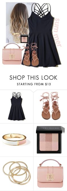 """summer time"" by aubreyspringer ❤ liked on Polyvore featuring Hollister Co., Old Navy, Bobbi Brown Cosmetics and ABS by Allen Schwartz"