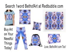 Search 1word BethofArt at Redbubble.com
