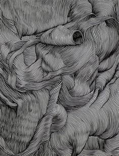 Pin by famenitcha t. on illustration / draw arte lineas, arte lineal, arte gráfico Op Art, Art Graphique, Elements Of Art, Aesthetic Art, Art Drawings, Contour Drawings, Cross Contour Line Drawing, Contour Line Art, Drawing Faces