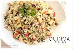eats: quinoa salad {mama♥miss}