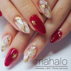 korean nail art 42 elegant nail art designs for prom 2019 33 42 elegant nail art designs for prom 2019 33 Asian Nail Art, Asian Nails, Korean Nail Art, Red Nail Art, Nail Art Designs Videos, Red Nail Designs, Elegant Nail Art, Beautiful Nail Art, Minimalist Nails