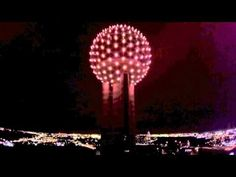 Drone footage of the Reunion Towner (Light up ball) in Dallas, Texas. This is also a good view of the Dallas Skyline. Dallas Skyline, Seattle Skyline, Regency Hotel, Nice View, Tower, Photo And Video, Youtube, Computer Case, Towers