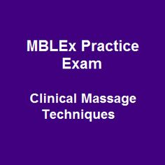 61 Free MBLEx Practice Exam Online Questions on Clinical Massage Techniques equip you with adequate knowledge around massage therapy and bodywork. Test it! Massage Therapy School, Spa Therapy, Spa Massage, Foot Massage, Neuromuscular Therapy, Essential Oils For Massage, Japanese Massage, Massage Business, Practice Exam