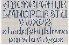 Grille alphabet : 25 - les Ptites X de CC