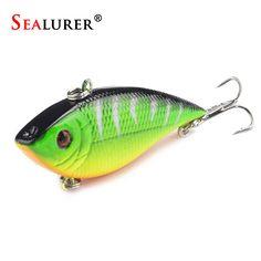 High Quality VIB Fishing Lure Pesca Wobbler Crankbait Artificial Japan Hard Bait Fish Tackle 7CM 10.5G 5 Colors Available