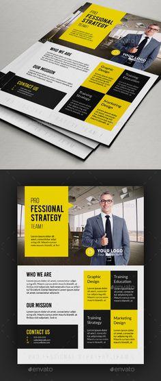 Multipurpose Corporate Flyer Designs Template PSD