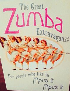 My friend's Zumba birthday card.