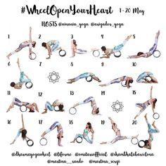 "Gefällt 443 Mal, 24 Kommentare - AINÀNIA • a wild yogi life (@ainania_yoga) auf Instagram: ""• #WheelOpenYourHeart • YOGA CHALLENGE 1-20 May Hosts: @ainania_yoga @arigador_yoga ⭐️Sponsors:…"""
