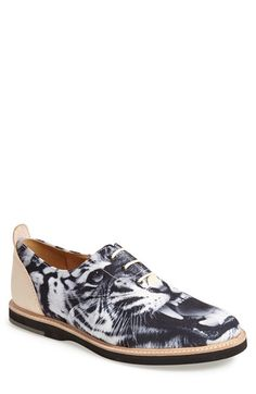 Men's Thorocraft 'Hampton - Tiger Print' Oxford