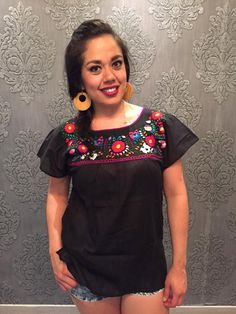 Mexican blouse top mexican party day of the dead cinco de mayo frida kahlo mexican party summer coachella austin city limits fiesta mexicana by Miamorcitocorazon on Etsy