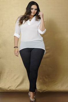 Cute Outfits For Plus Size Women. Graceful Plus Size Fashion Outfit Dresses for Everyday Ideas And Inspiration. Plus Size Refashion. Look Plus Size, Curvy Plus Size, Plus Size Girls, Plus Size Casual, Plus Size Women, Plus Size Outfits, Xl Mode, Mode Plus, Plus Size Fashion For Women