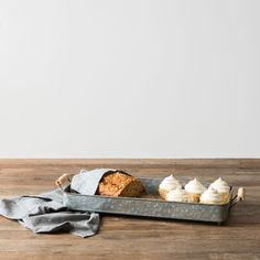 Our rectangular serving tray is the perfect multi-purpose piece to have! It is a great tray for serving treats or drinks at a party, but it is also a great piec
