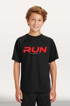 Run Boy's Active T-Shirt