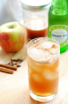 Apple Spice Bourbon Infusion