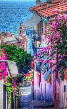 Tellaro, Italy by Marco Ponti