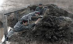 Fotos colorizadas trazem Primeira Guerra à vida 07
