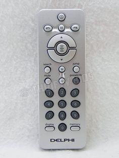 Genuine Remote Control For Delphi Skyfi Skyfi2 Sirius XM Satellite Radio  #Delphi