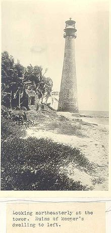 Cape Florida Lighthouse, the oldest-standing structure in Miami, built in 1825 Cape Florida Lighthouse, Miami Vice, Native American Tribes, Miami Florida, Ny Times, 18th Century, Old Things, Coast, Tower