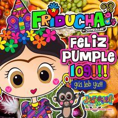 Celebrantes del que fuera cumple #109 de Frida Kahlo Oficial !!!