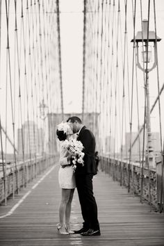 perfect city hall wedding