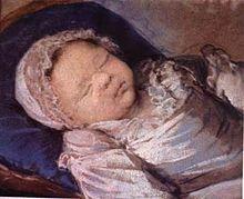 Sophie Hélène Beatrice di Francia (1786-1787). Figlia di Louis XVI e Maria Antonietta. E ' morta prima del suo primo compleanno..