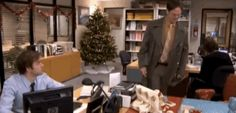 The wrapping-paper-desk joke. | 27 Pranks You Need To Really Own April Fool's Day