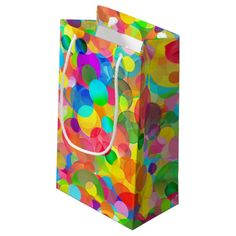 CKC Party Dots-GIFT BAG S #kids #party #supplies #giftbags #dots