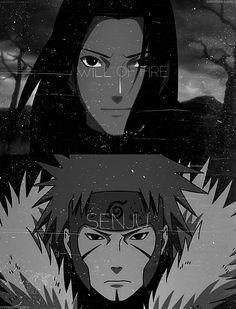 Senju brothers: Hashimara & Tobirama. #naruto