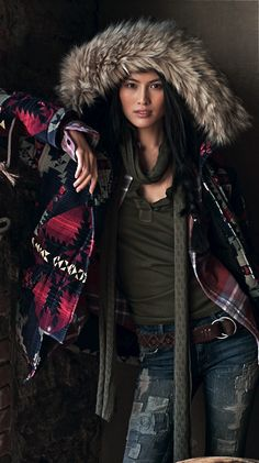 Denim & Supply Ralph Lauren Clothes Casual Outift for Winter Outfits, Casual Outfits, Cute Outfits, Boho Fashion, Winter Fashion, Womens Fashion, Looks Style, My Style, Estilo Hippy