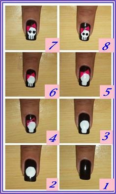 #halloween #nailart #tutorial