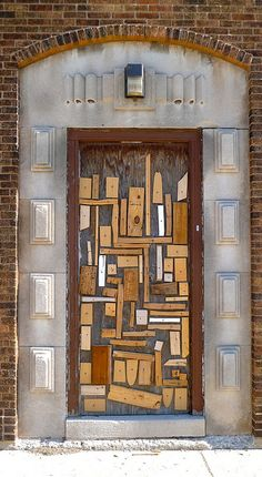 Door... seen on a Chicago avenue