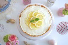 DIY + FOOD: NO BAKE LEMON MACAROON CHEESECAKE