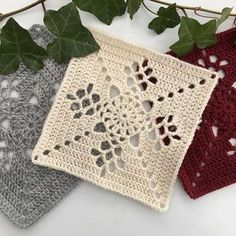 How to Crochet a Solid Granny Square Granny Square Crochet Pattern, Crochet Blocks, Crochet Squares, Crochet Blanket Patterns, Crochet Motif, Crochet Doilies, Granny Squares, Crochet Coaster, Diy Crafts Crochet