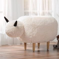 Shop for Pearcy Velvet Sheep Ottoman by Christopher Knight Home. Get free delivery at Overstock.com - Your Online Furniture Shop! Get 5% in rewards with Club O! - 20158286