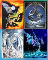 dragons by ~Fefe12 on deviantART
