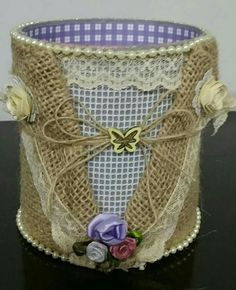 1 million+ Stunning Free Images to Use Anywhere Tin Can Crafts, Diy Home Crafts, Arts And Crafts, Recycle Cans, Diy Cans, Formula Can Crafts, Decoupage Jars, Mod Podge Crafts, Altered Tins