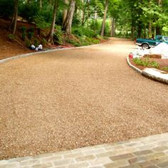 Permeable Paver Driveway.  Paver strip #cleanwater #stormwater #permeable