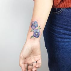 If you've been thinking about getting a tattoo of your zodiac sign, you may want to consider birth flower tattoos while you're at it. Like a birth stone, there