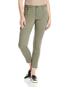 Jag Jeans Womens Remy Skinny Cargo Jungle Palm 10 *** Read more  at the image link.