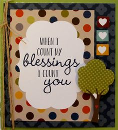 Blessings - Scrapbook.com