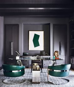 Modern Home Office Furniture Modern Home Office Furniture. Your home office can be really messy or it can be really clean. Interior Design Minimalist, Salon Interior Design, Interior Design Photos, Interior Design Magazine, Home Office Design, Home Interior, Modern Interior Design, Office Designs, Interior Office