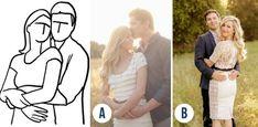 Jak pozować do zdjęć z partnerem? 20 fotogenicznych póz, które zawsze dobrze wyglądają + rysunki
