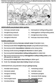 40 Best Penulisan Images Malay Language Primary School Kids School