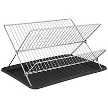 Buy John Lewis X-Shaped Dish Drainer, Chrome Online at johnlewis.com