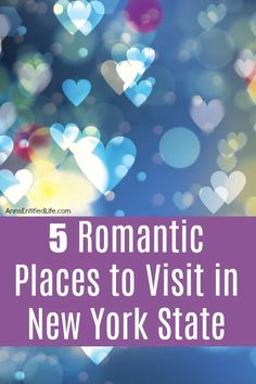 5 Romantic Places to Visit in New York State Beautiful Places To Visit, Cool Places To Visit, New York Tourist Attractions, New York Travel Guide, Upstate New York, Romantic Places, Living In New York, Romantic Getaways, Best Places To Travel