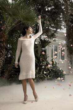 Ravelry: The White Dress pattern by Jennie Atkinson