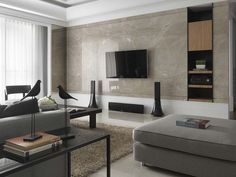 Marble TV Cabinet